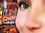 Pepsi added the aroma of black-cherry vanilla soda to its recent magazine inserts for Diet Pepsi Jazz.