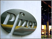 Despite the cut to its sales force, Pfizer is not slashing its ad budget.