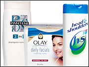 P&G had some of its biggest January increases behind Olay, Pantene, Clairol, Cover Girl and Head & Shoulders, with monthly outlays up 48% to 154% for those brands compared to January 2007.