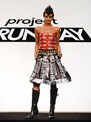 BlueFly.com's sponsorship of this season's 'Project Runway' scored the highest brand recall of 2007.