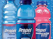 Propel competes in a category that consists of 130 or so vitamin-laced waters.