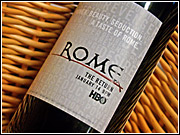 'Rome,' HBO's sex-blood-and-togas series, is offering a complimentary bottle of wine at some eateries to promote its second season.