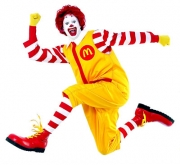 Ronald's become an advocate of activity.