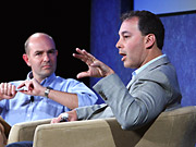 Yahoo's Daniel Rosensweig is interviewed by 'Wired' editor Chris Anderson.