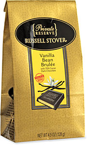 Russel Stover's new Private Reserve gourmet line of chocolates uses packaging resembling Lindt's.
