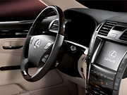 The Lexus LS 600h L hybrid