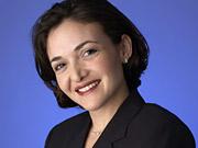 Sheryl Sandberg, Facebook's new chief operating officer