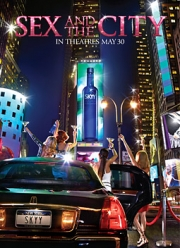 The deal with 'Sex and the City' is Skyy Vodka's biggest promotion ever.