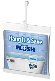 Scott SmartFlush toilet-tank insert