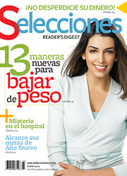 Selecciones, the Spanish-language counterpart to Reader's Digest, can use the boost from State Farm, as ad pages have fallen by 15% this year.