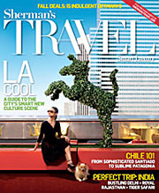 Sherman's Travel magazine launched with a fall issue in 2006, and has yet to look back.