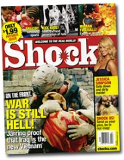 According to the photographer, Hachette had agreed to stop showing the above photo online at the magazine's site, shocku.com.