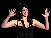 Sarah Silverman hosts this year's MTV Movie Awards.