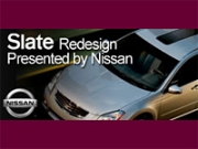 Nissan is a mjor advertiser on Slate, helping the online mag celebrate its milestone.