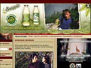 Snapple discovered that people interested in its line of green teas were also drawn to the arts, visiting sites such as RogetEbert.com (above).