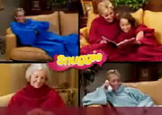 With fewer affordable slots available, Snuggie has been running shorter commercials.