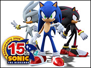 Sonic is 15 and he's back to entertain a new generation of gamers.