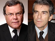 Martin Sorrell and Marco Benatti