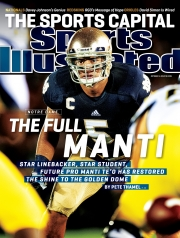 Sports Illustrated's Manti Te'o cover