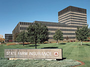 State Farm's corporate headquarters in Bloomington, Illinois.