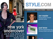 Style.com is one of the CondeNet properties that will contribute content to MSNBC.