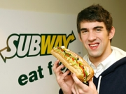 Subway removed Michael Phelps from its SubwayFreshBuzz website this afternoon.