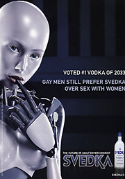 Svedka pulled this ad after the Discus review board found that the tagline violated its 'good taste' provision.
