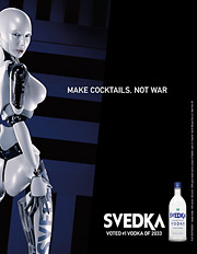 Svedka has repeatedly been slapped by the Distilled Spirits Council of the United States for flouting the trade group's code against depicting 'graphic or gratuitous nudity,' among other things.
