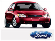 A Ford Taurus from back in the day