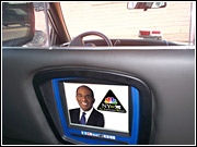 Hopefully, the cabby will keep an eye somewhere on the road -- and not on Al Roker -- while still talking into his cellphone.