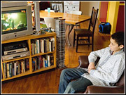 Teenagers, those assumed to be spending the most time with the web and iPods, have not abandoned TV just yet.