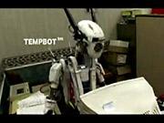 The hard-working and award-winning 'Tempbot'