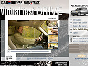 The virtual drives are sold as part of larger packages to advertisers that already do significant business with 'Car and Driver' and 'Road & Track.'