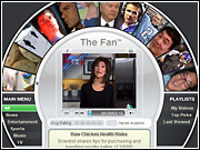 Comcast's 'The Fan' service looks to push HDTV as a major growth driver.