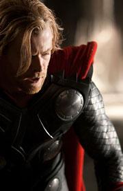 Chris Hemsworth as Thor in 'Thor'