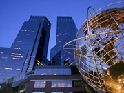 Time Warner's headquarters in New York's Columbus Circle