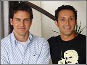 Carlos Tornell, left, has been named Ole's new creative director. Javier Escobedo managing partner Javier Escobedo remains as the majority partner.