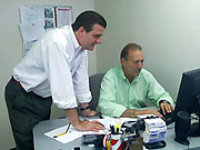 Carat's Joe Townley and Michael Yudin