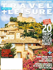 Ad pages at American Express Publishing, which publishes Travel + Leisure, fell 3.6% in the first half of the year.