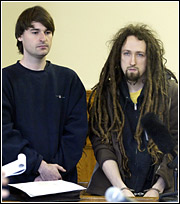 Sean Stevens and Peter Berdovsky