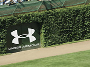 A rendering of what Under Armour's logo will look like in Wrigley Field.