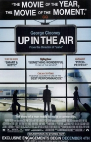 This ad for 'Up in the Air' ran in Time Out New York, December 3, 2009.