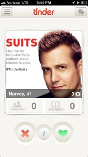 USA on dating app Tinder