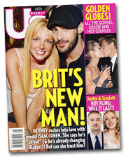 Britney's back on the front pages of the tabs this week with a Kevin Federline look-alike (and wasn't he a Justin Timberlake look-alike?).