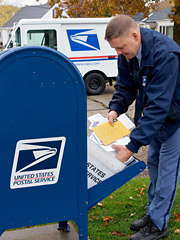 The USPS lost $2.8 billion last year after total mail volume dropped to 202 billion items, some nine billion less than in 2008.