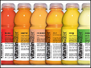 A new NCAA press release said, 'To put it in perspective, an average-sized, healthy man would have to drink 10 20-ounce bottles of Vitaminwater Energy or Rescue within several hours of competition to reach the level that could potentially create a positive NCAA urine test.'