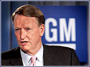 General Motors Corp. Chairman-CEO Rick Wagoner