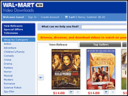 Wal-Mart accounts for an estimated 40% of DVD sales, a huge market compared to the fast-growing but still minor digital-movie download business.