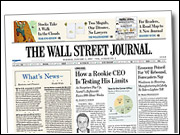 The redesigned 'Wall Street Journal'