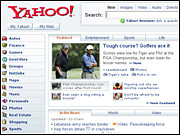 According to a new study, a busy home page may be one reason why Yahoo saw a decline in customer-satisfaction ratings.